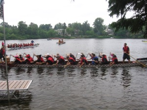 Power Paddlers - 2nd Race