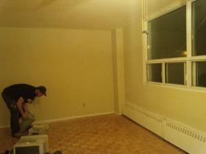 Cory's apartment